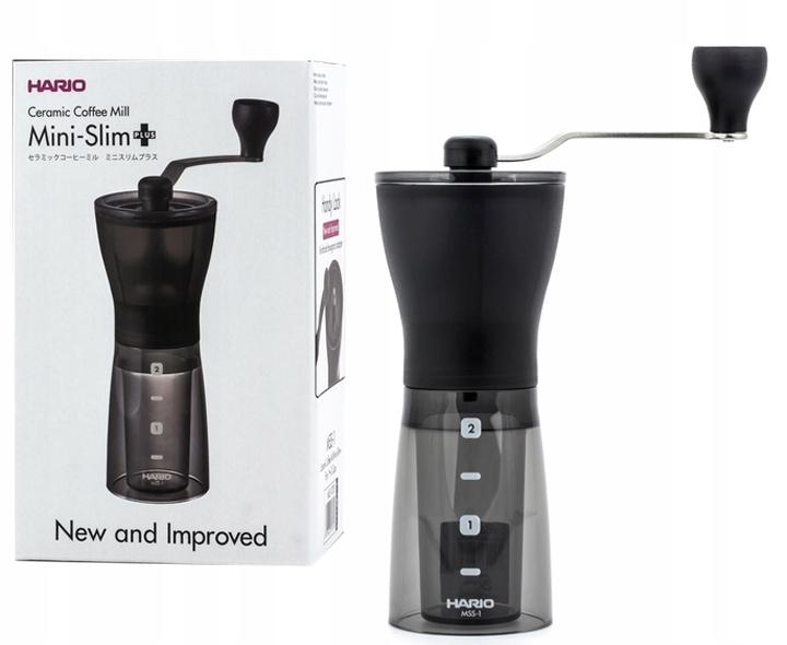 Ручная кофемолка Hario Mini Mill Slim Plus