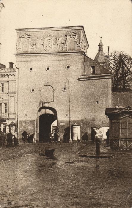 Vilnius. Ostra Barama. Zadanie stanice. Dobre. 1930