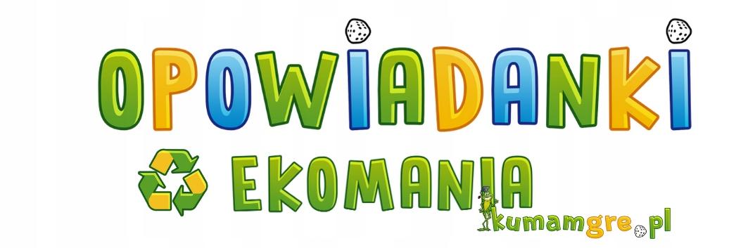 Eko gra dla dzieci OPOWIADANKI ekomania Kod producenta 56785