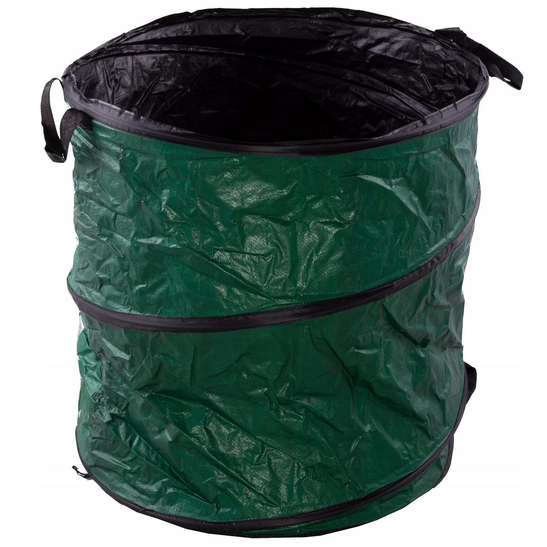 Складная корзина для садовых контейнеров для листьев травы