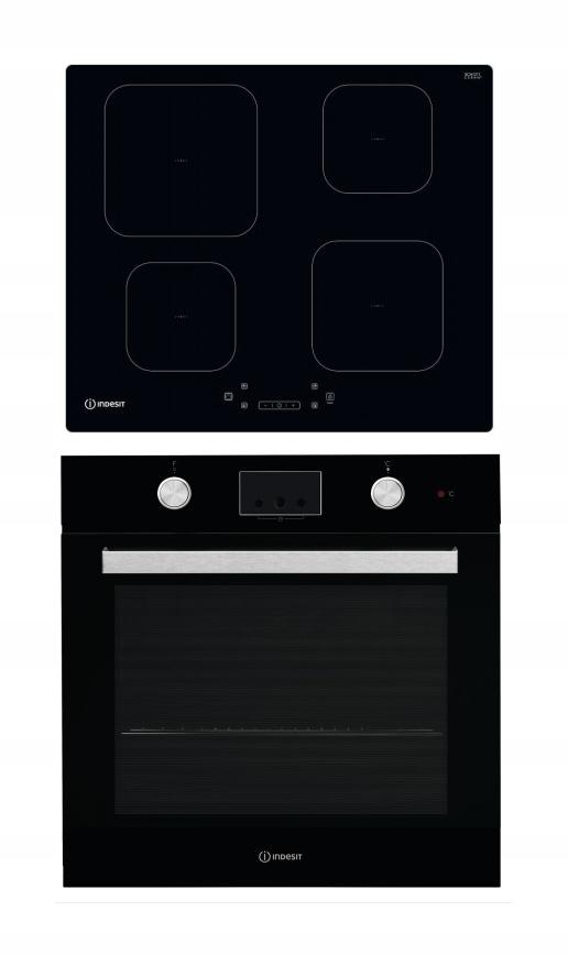 Бытовая техника Indesit духовка + индукционная плита