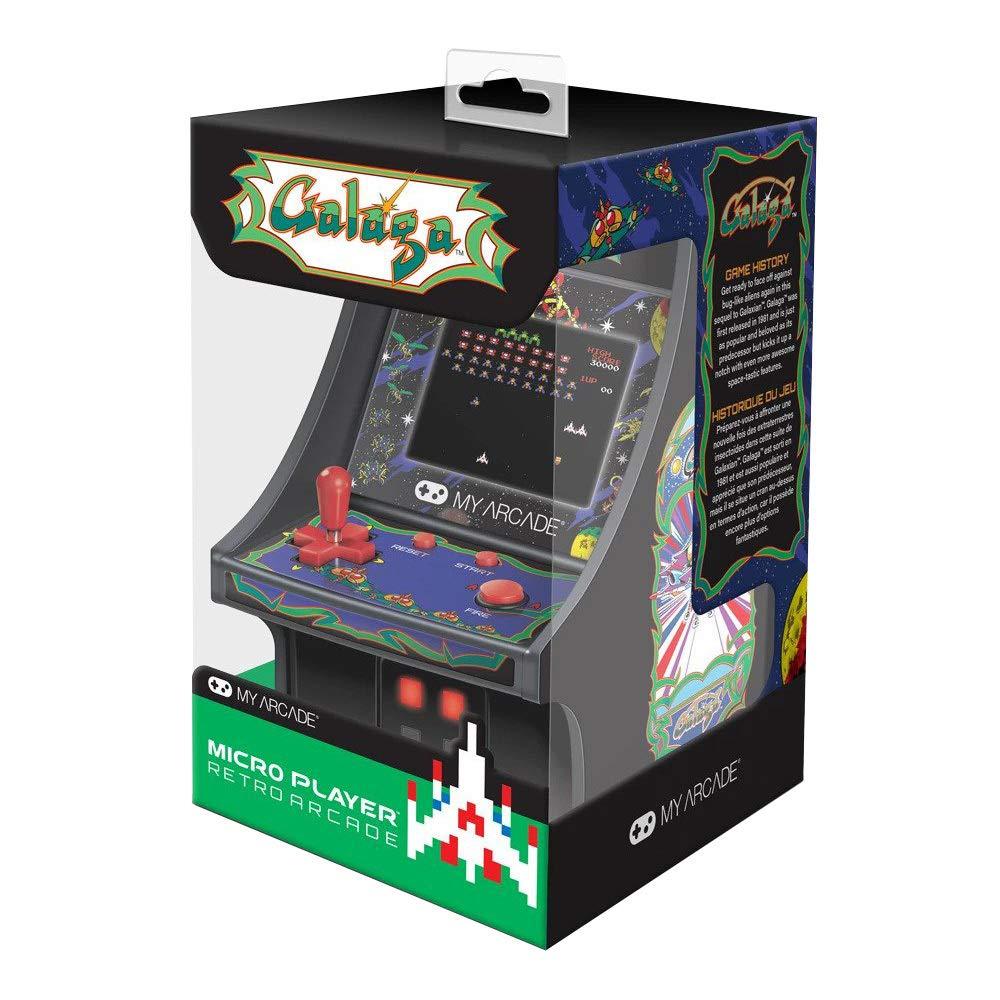 ARCADE GAME Micro Player Retro Galaga CONSOLE