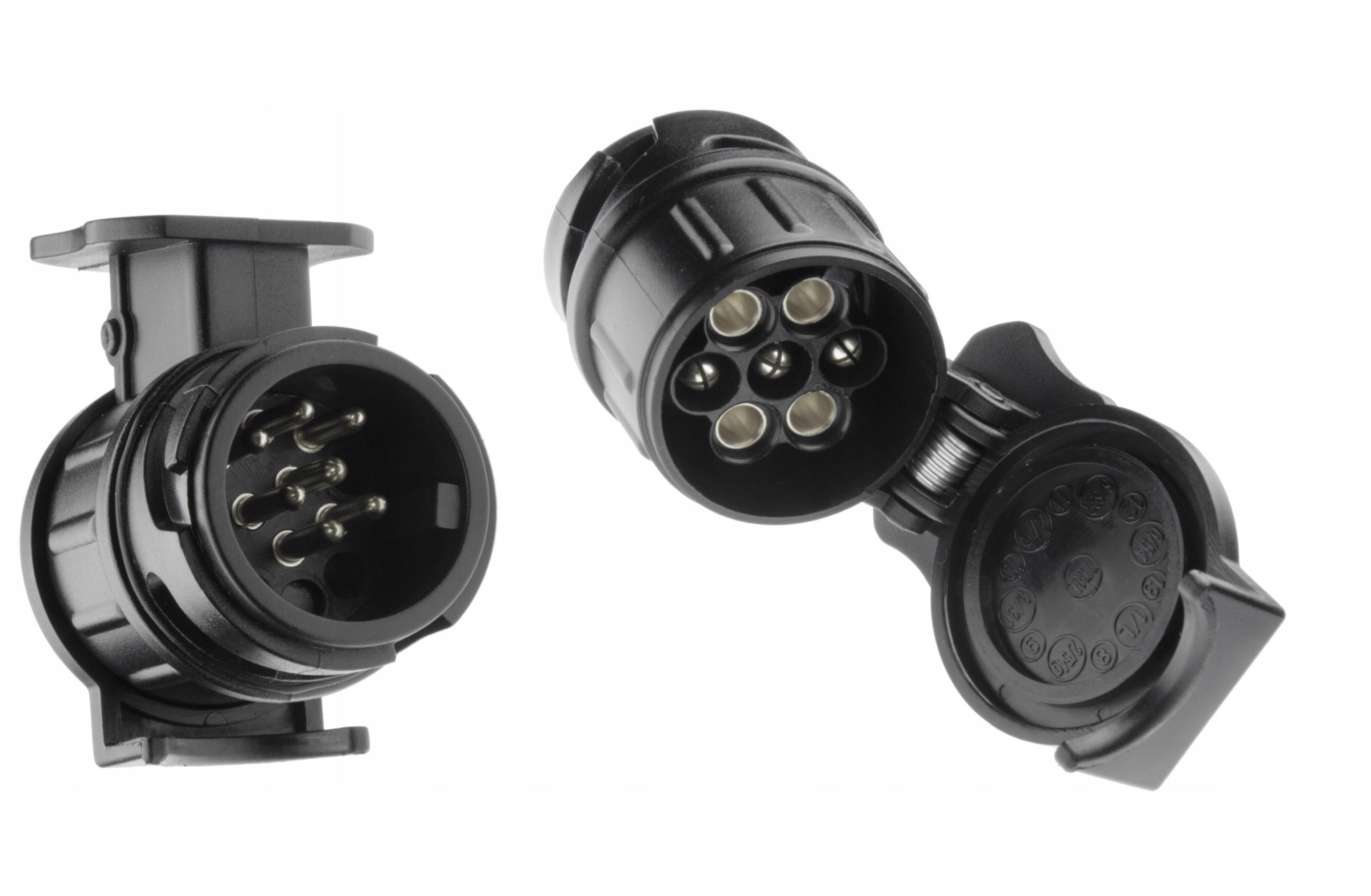 Купить Adapter redukcja gniazda haka przyczepy 13/7 pinów на Otpravka - цены и фото - доставка из Польши и стран Европы в Украину.