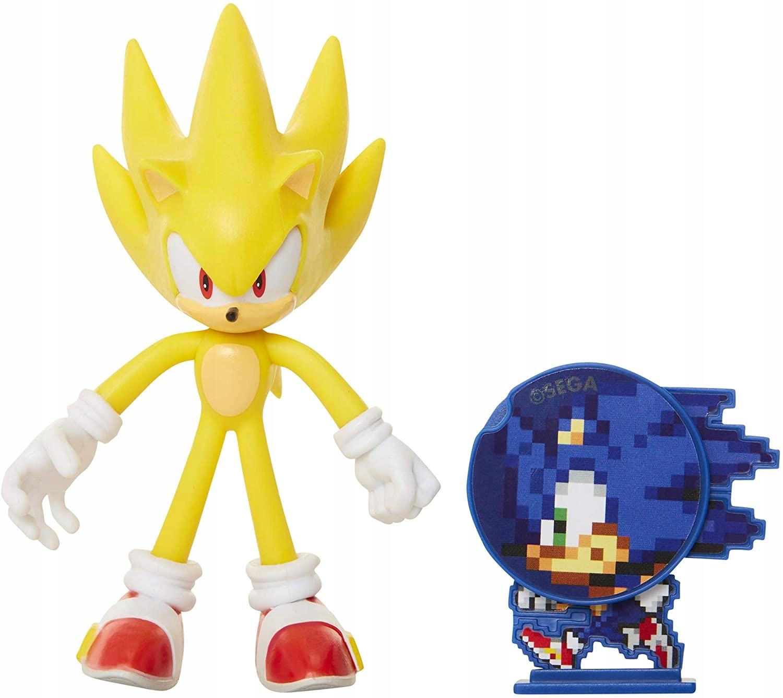 Akčná figúrka Sonic The Hedgehog Super Sonic + DISC