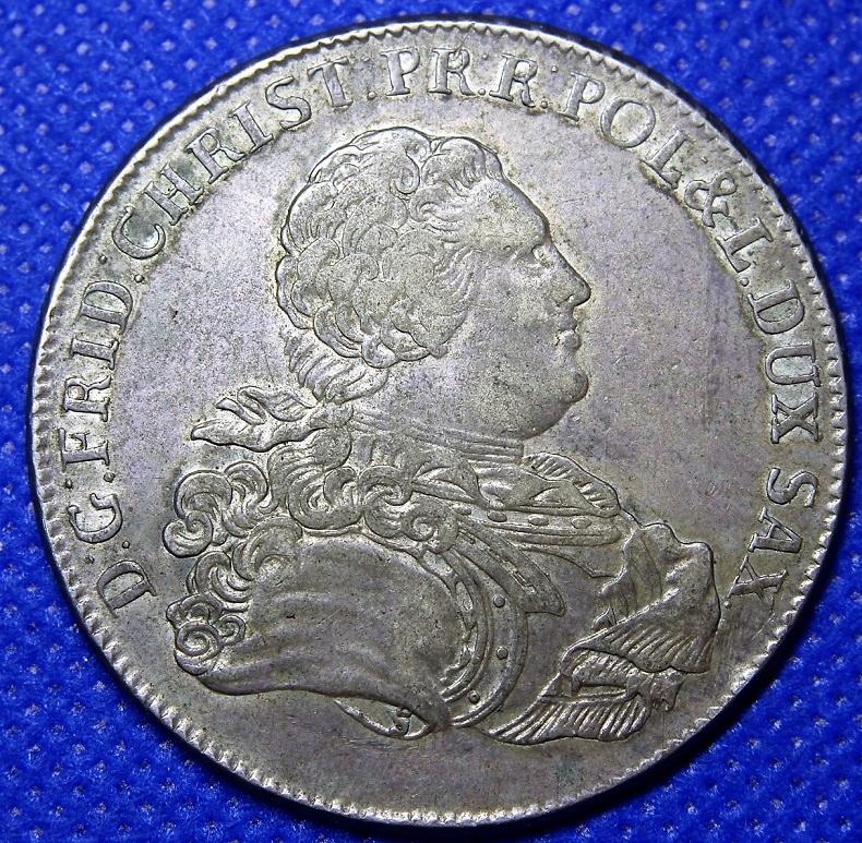 Talar Sasko-Polski, 1763 EDC, Lipsko. Krásna