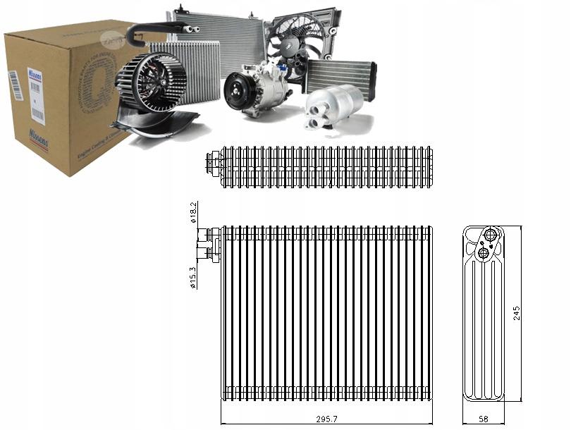испаритель кондиционирования воздуха bmw 5 525 tds e39