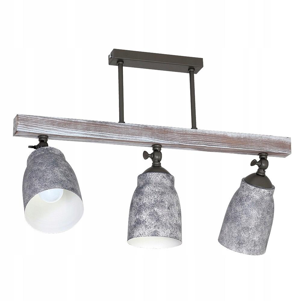 Lampa Plafond Retro Agap 9134 Luminex drevo