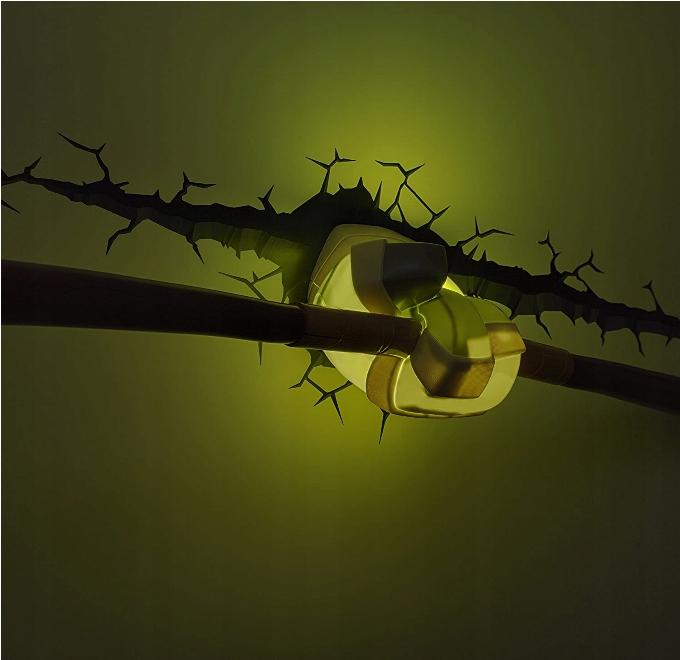 LAMPKA DEKORACYJNA 3D DONATELLO ŻÓŁWIE NINJA Kod producenta 140627
