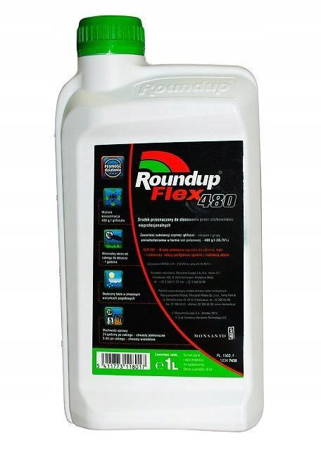 Roundup Flex 480 1L RANDAP для всех сорняков пырея
