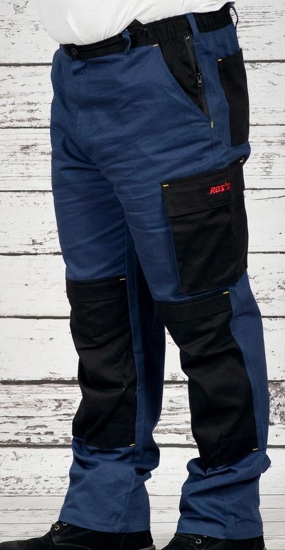 Мужские рабочие брюки размер 100% хлопок 245 г / м2 NS