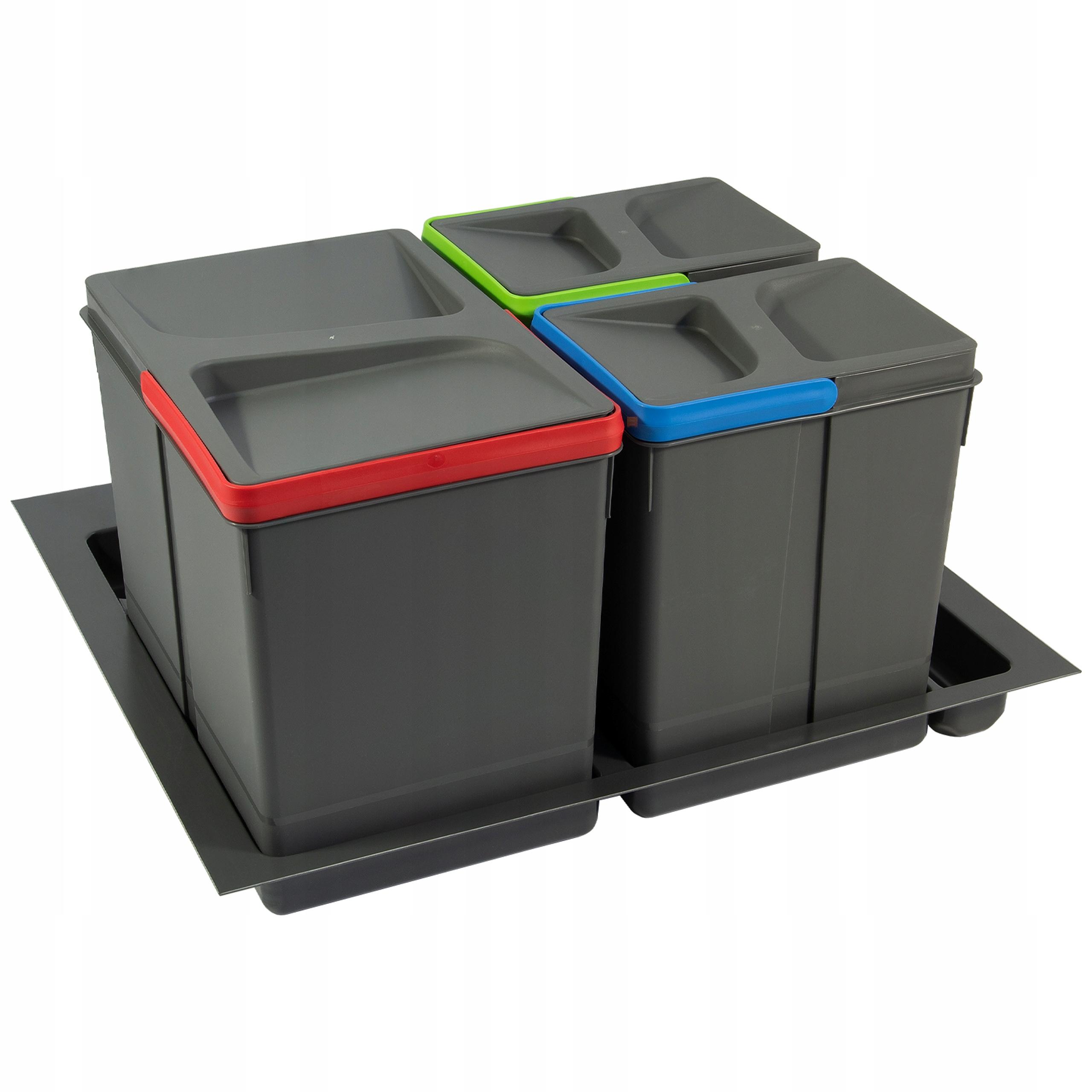 Сортировщик на мусор 60 1x15L, 2x7L EMUCA  !
