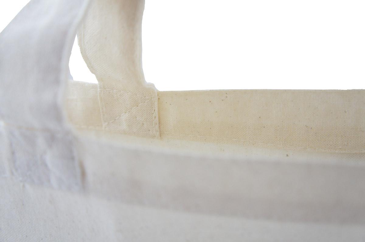 Torba bawełniana CZARNA 38x42cm długi uchwyt 70 5919900680