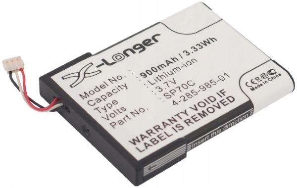SP70C Batéria pre Sony PSP E1000 E1002 E1004 E1008