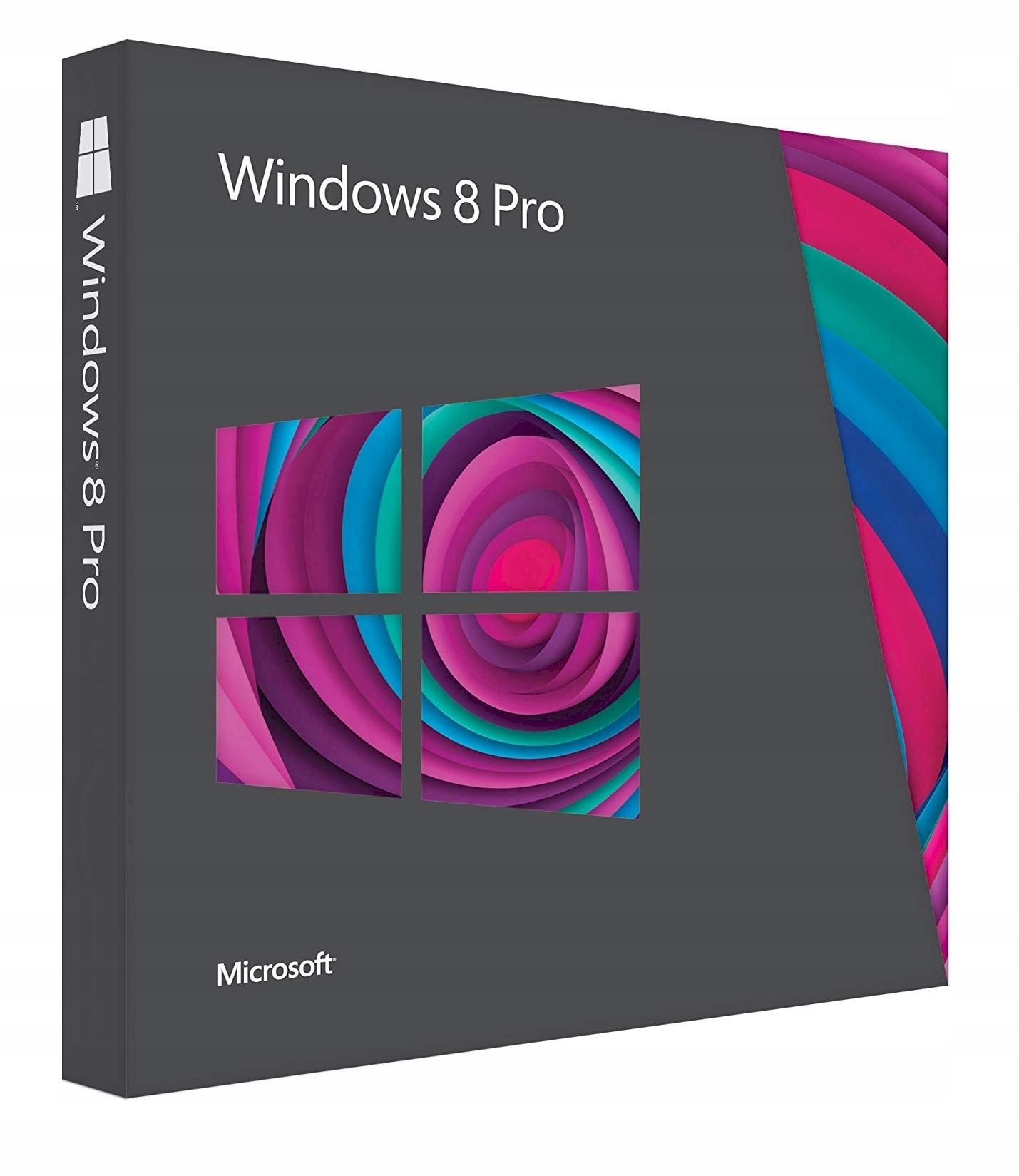 Ms Windows 8 8 1 Pro Pl Vup 32 64b Box Dvd Uzywany Sklep Komputerowy Allegro Pl