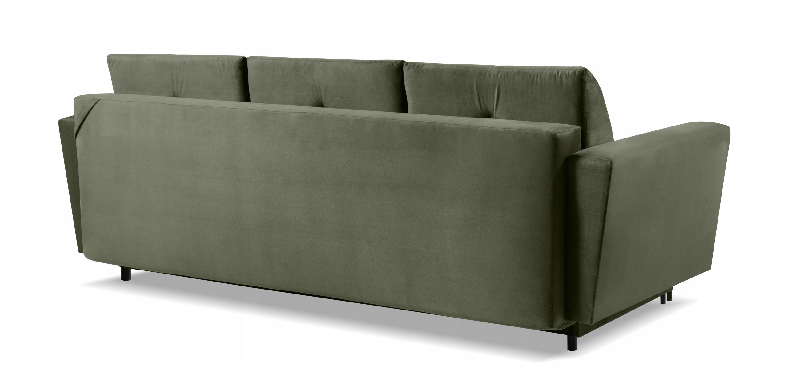 Großes Sofa SARA Klappsofa - Farben Schlafbereich - Länge (cm) 201-210 cm