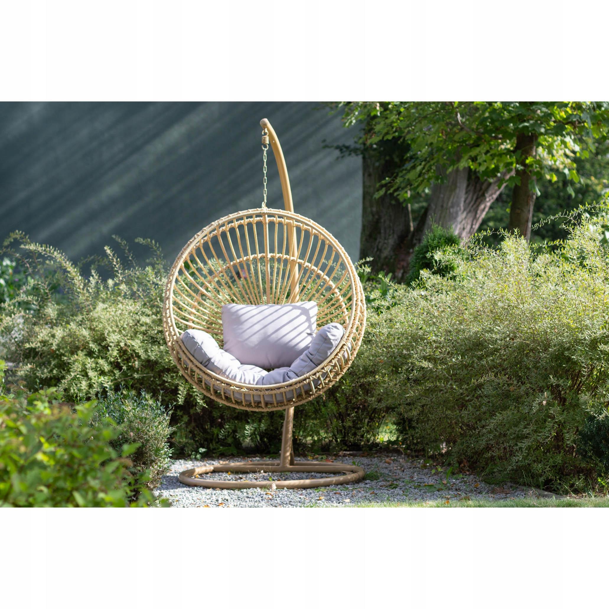 Závesná záhradná stolička kokonový kôš STELLA EAN 5902490742734
