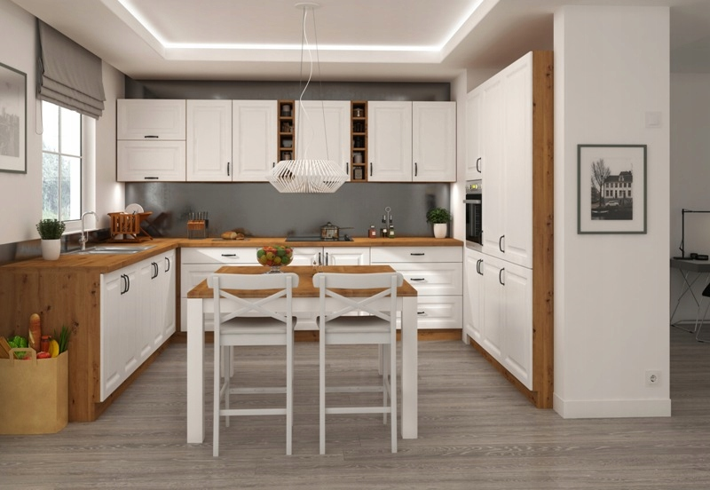 Kuchnia meble kuchenne modułowe KLEO MDF na wymiar