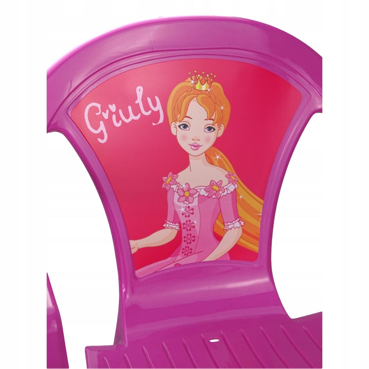 krzesełko dla dzieci z motywem Różowe do 30 kg Płeć Chłopcy Dziewczynki