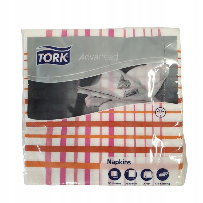 Tork 13618 - Serwetki, miękkie, 3-warstwy x50