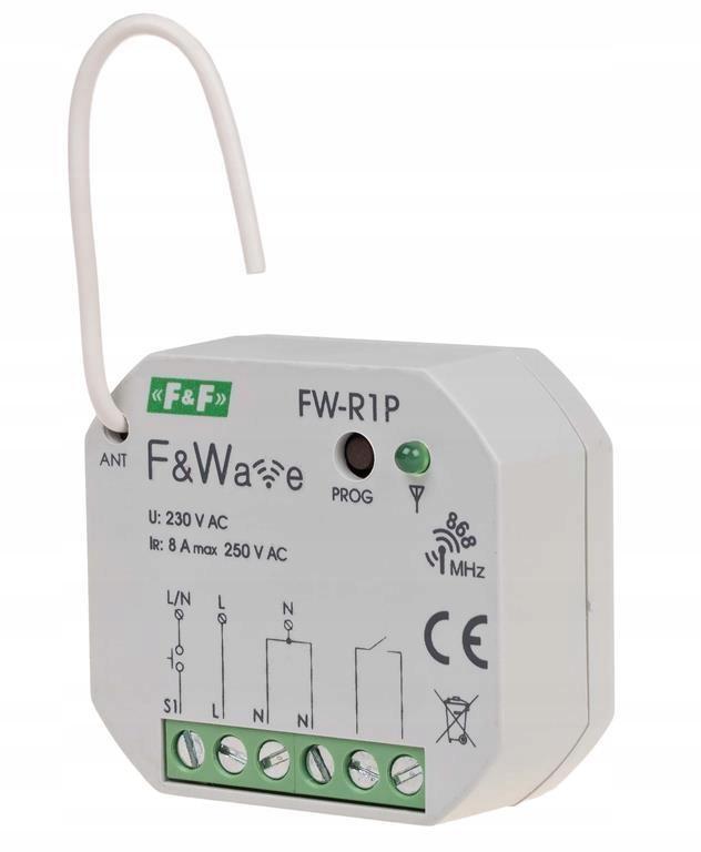 F&Wave - przekaźnik bistabilny pojed. FW-R1P