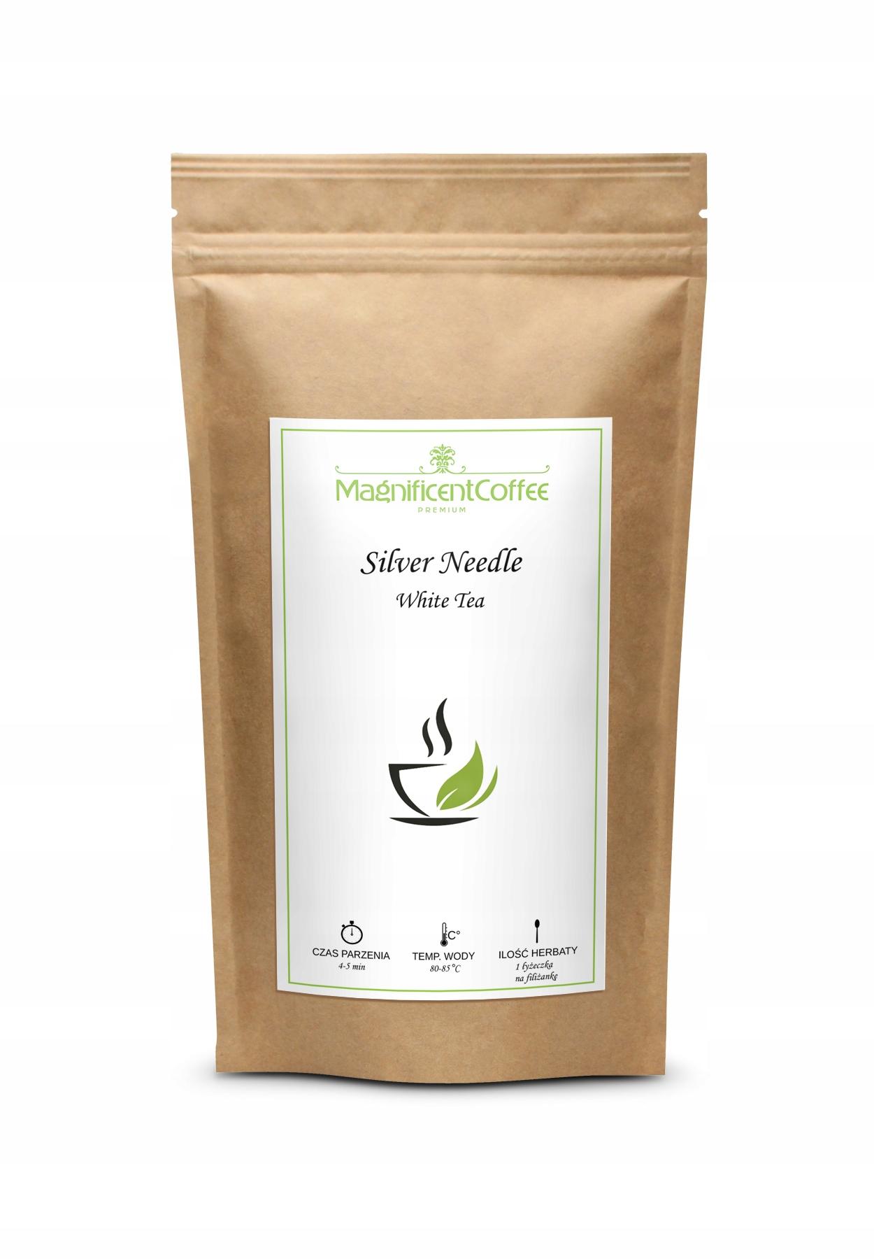 Белый чай Silver Needle Baihao Yinzhen DELICIOUS