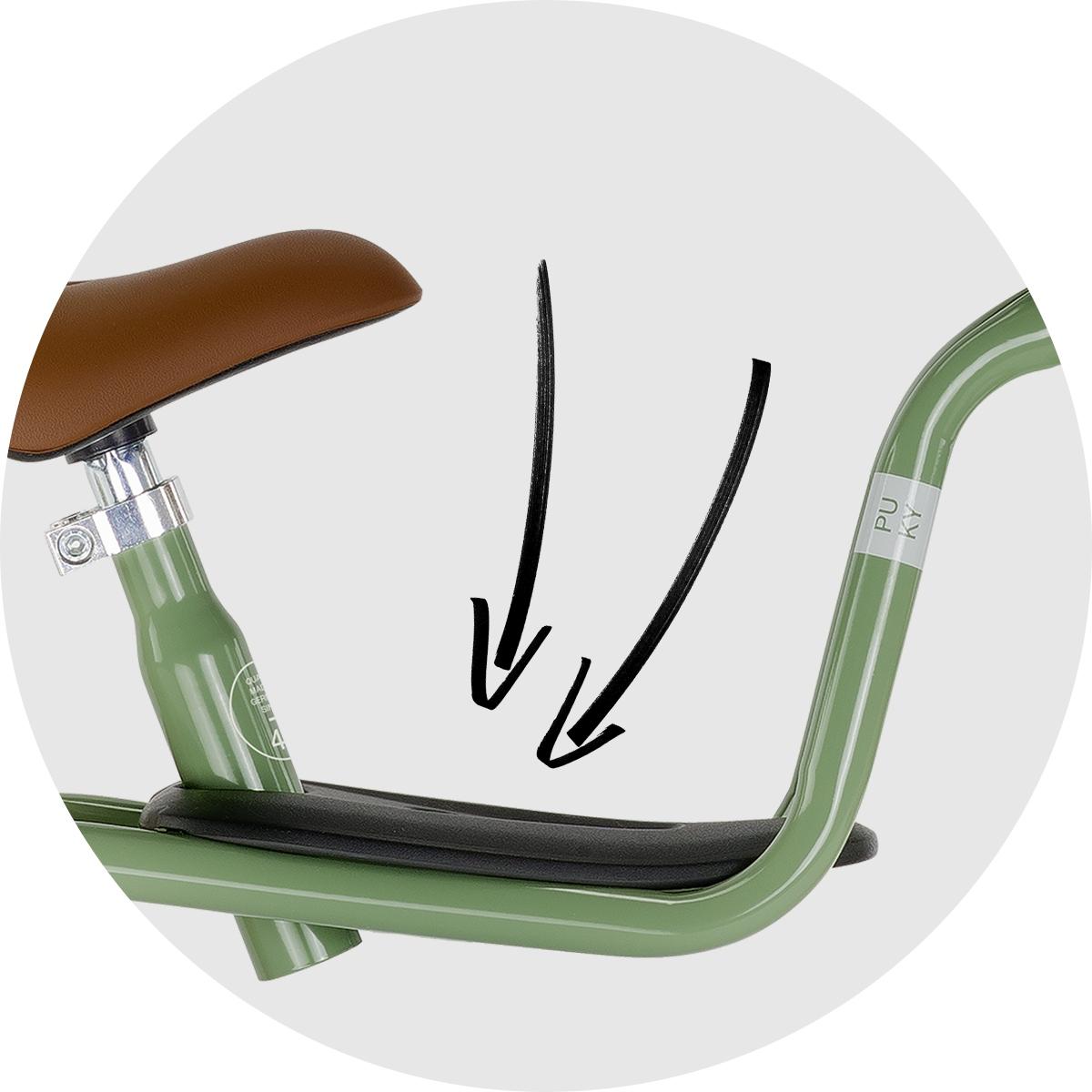 Rowerek biegowy PUKY LR M antracyt koszyk 3099 EAN 4015731030994
