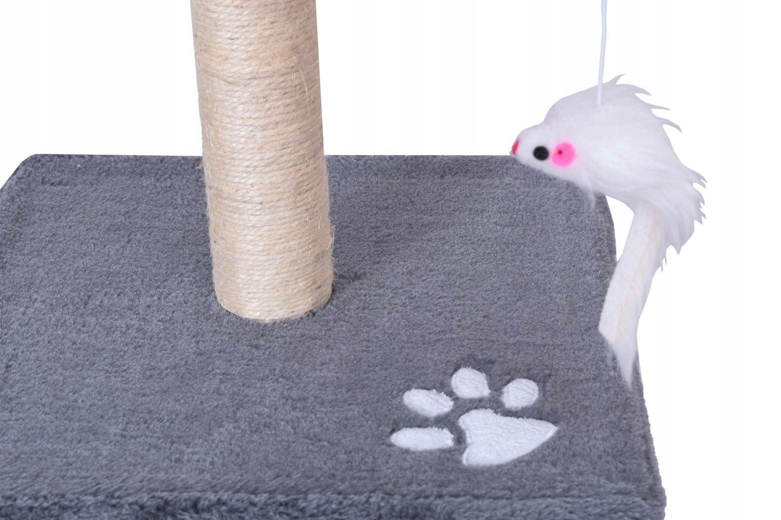 SPRIEVODCA STROJOM ODEV PRE KOČKY 3 ÚROVNE 56 cm Určené pre mačiatka, pre rodiny mačiek