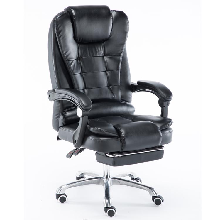 Поворотный офисный стул FALCO черный хром