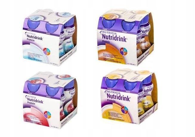 Nutridrink Protein zestaw 16 x 125ml mix smaków