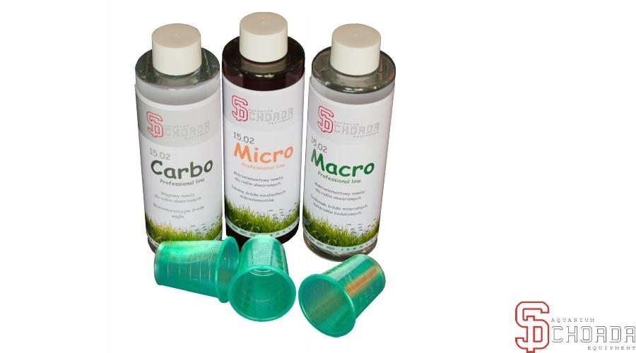 Chorda набор 3x500ml Micro + Macro + Карбо