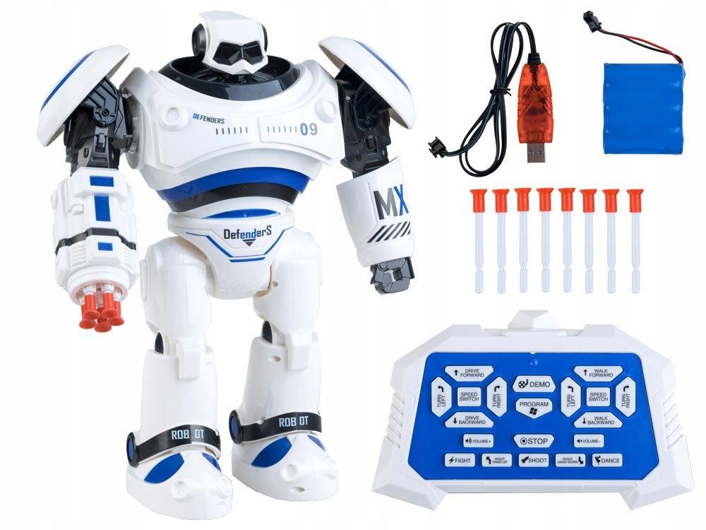 Interaktywny Tańczący ROBOT chodzi + pilot RC0398 Bohater inny