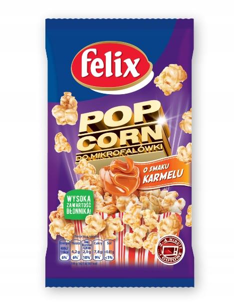FELIX POP CORN карамель для микроволновой печи 90 г