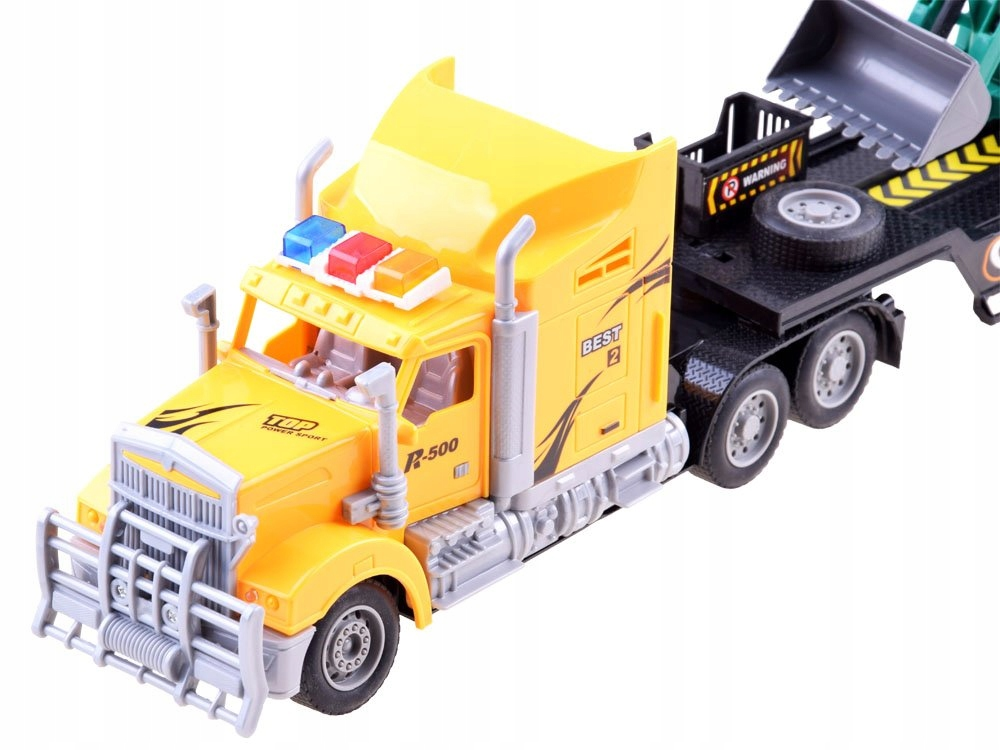 Tir Laweta + Traktor z Przyczepą Zestaw R/C RC0208 Płeć Chłopcy
