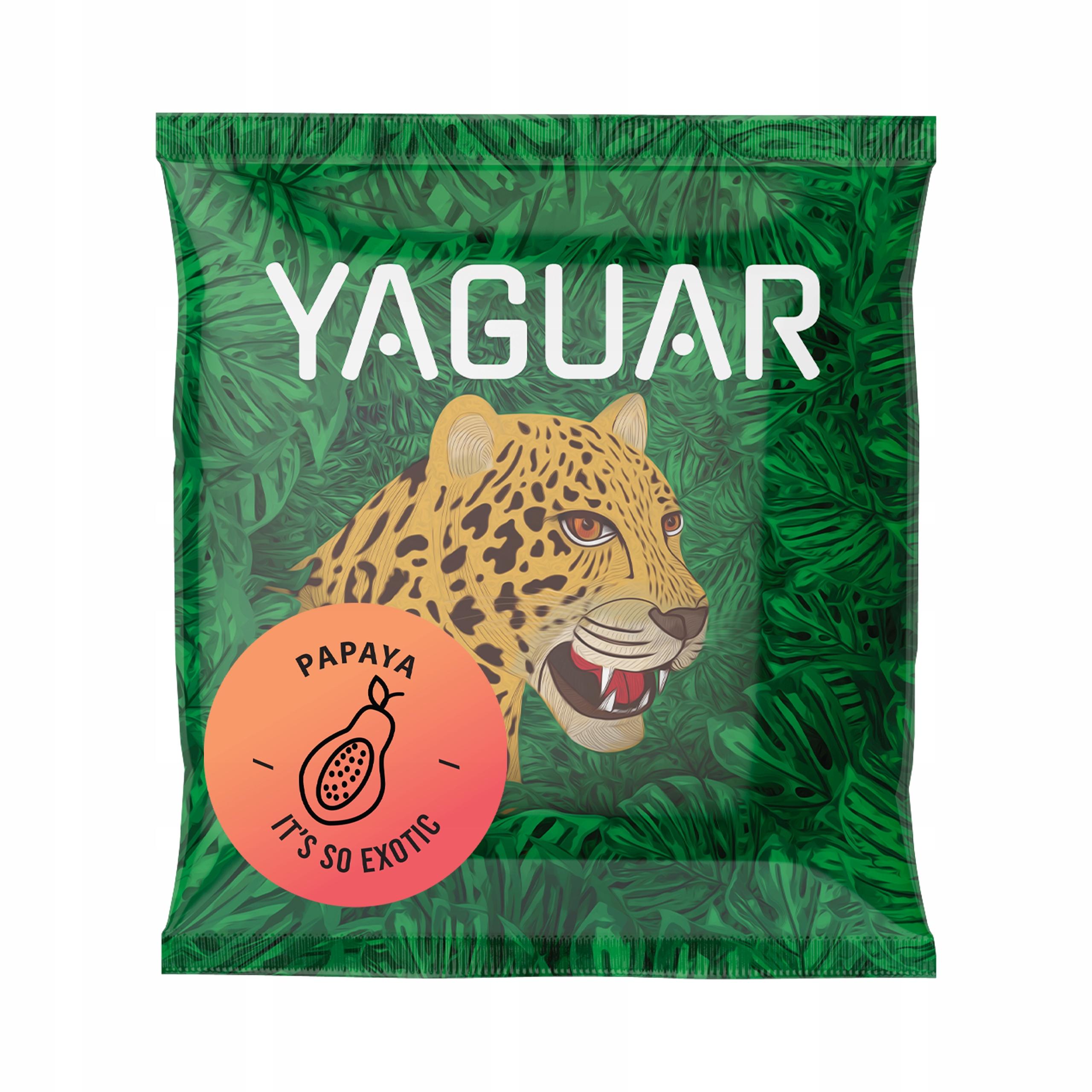 Yerba Mate Yaguar Papaya 50g próbka