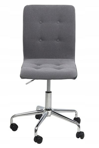 ACTONA stolička otočná FRIDA svetlo sivá - textílie