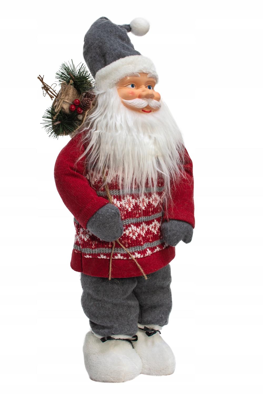 VIANOCE VIANOCE 61cm škandinávsky VEĽKÝ vianočný výrobca kód figúrka darčeková ozdoba