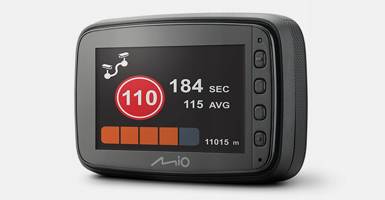 MIO MiVue 812 REJESTRATOR GPS 1440p, 60kl/s, AVG Kąt widzenia 140°