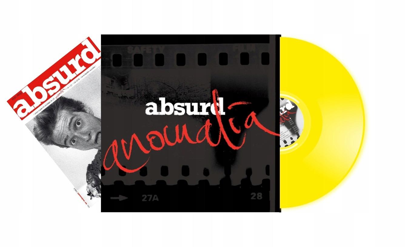 Absurdné - Anomália [LP Yellow]