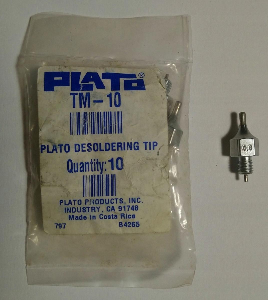 Tryska na odpájanie Weller DS 110, Plato TM-10