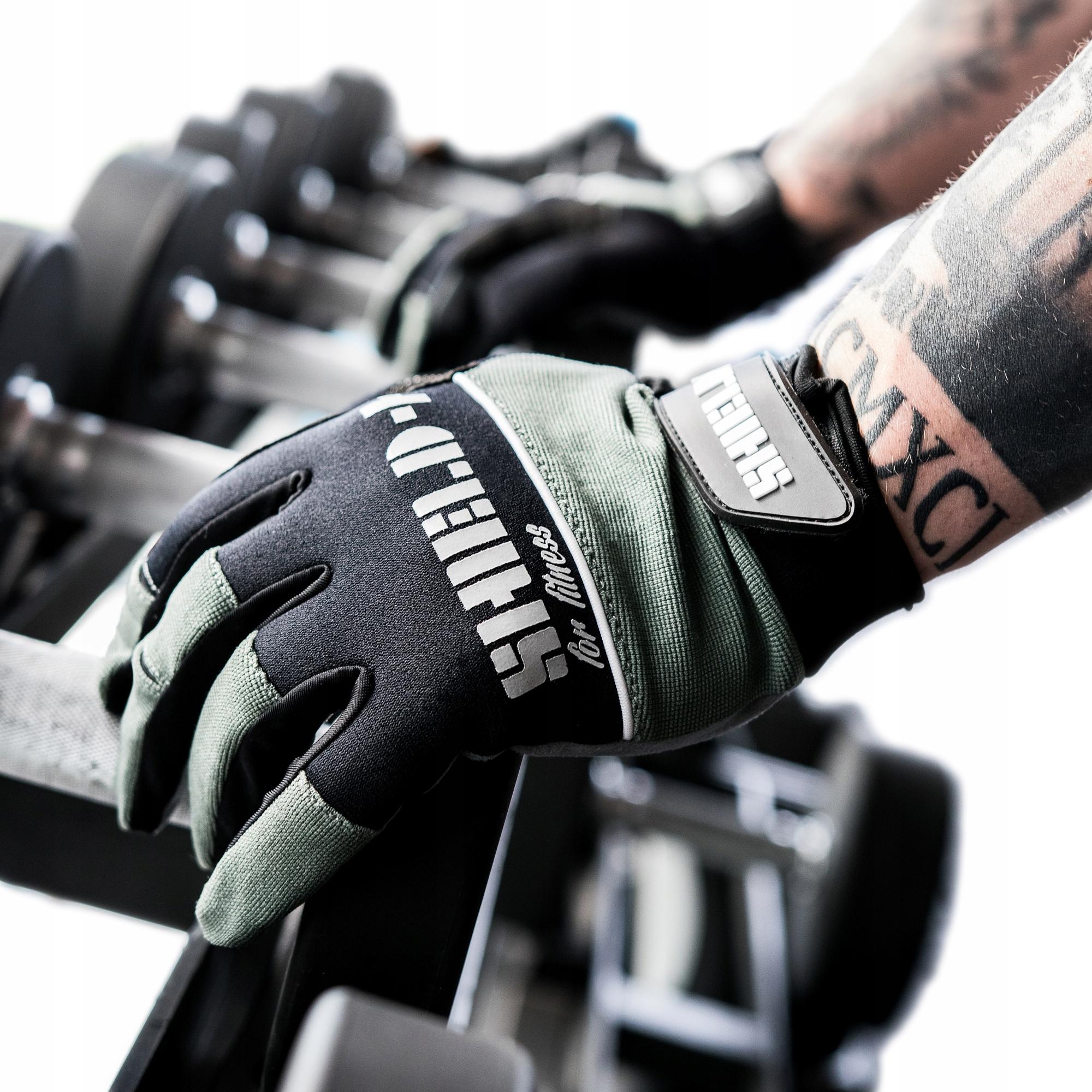 Rękawice treningowe CROSSFIT Fitness siłownia