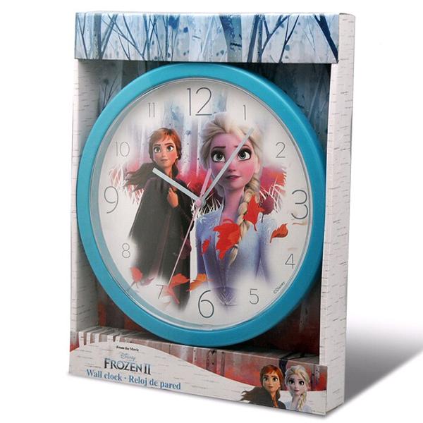 Nástenné hodiny Frozen II Elsa Anna BATÉRIA ZADARMO!