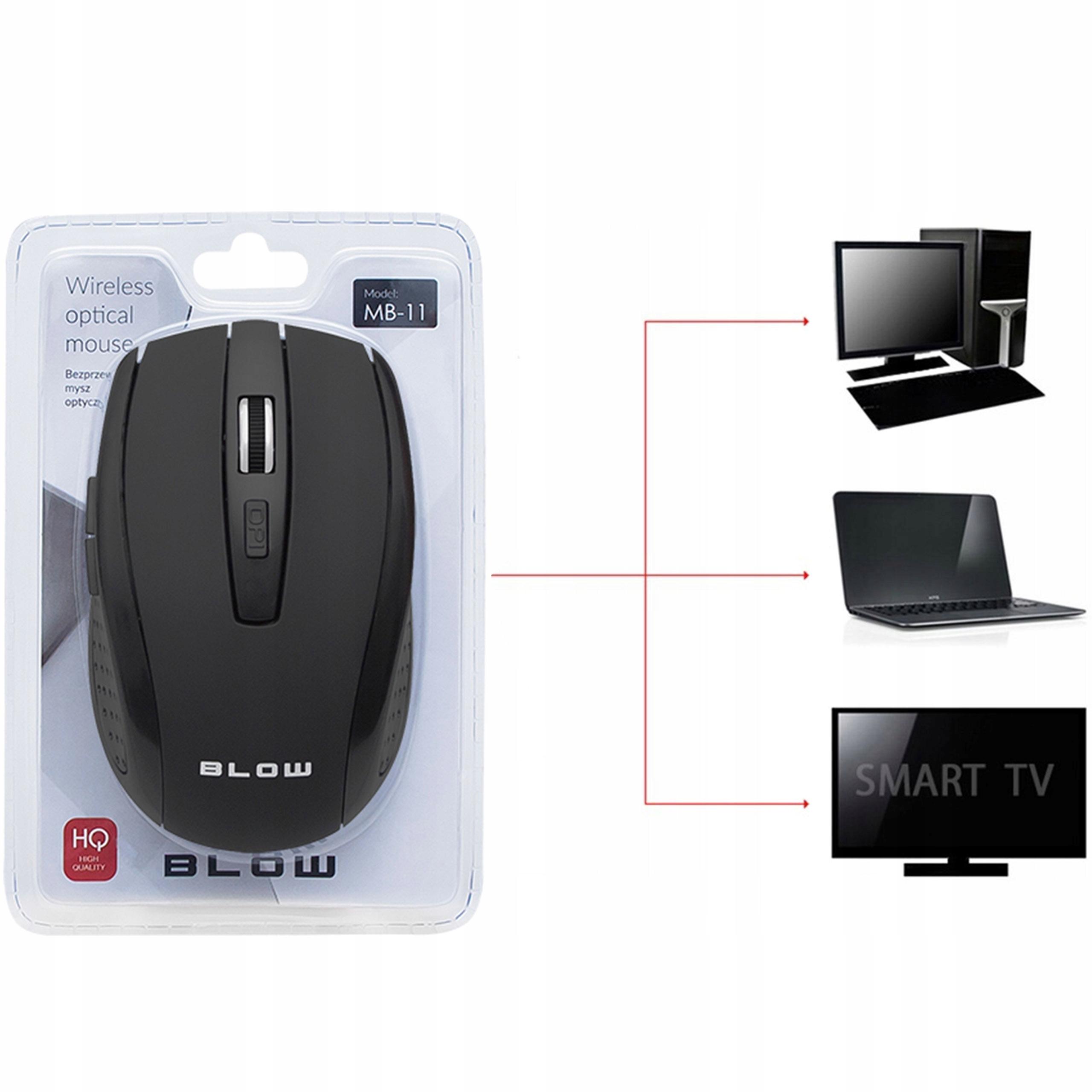 Купить МЫШЬ USB PC SMART TV WIRELESS mouse mouse 2400 dpi на Otpravka - цены и фото - доставка из Польши и стран Европы в Украину.