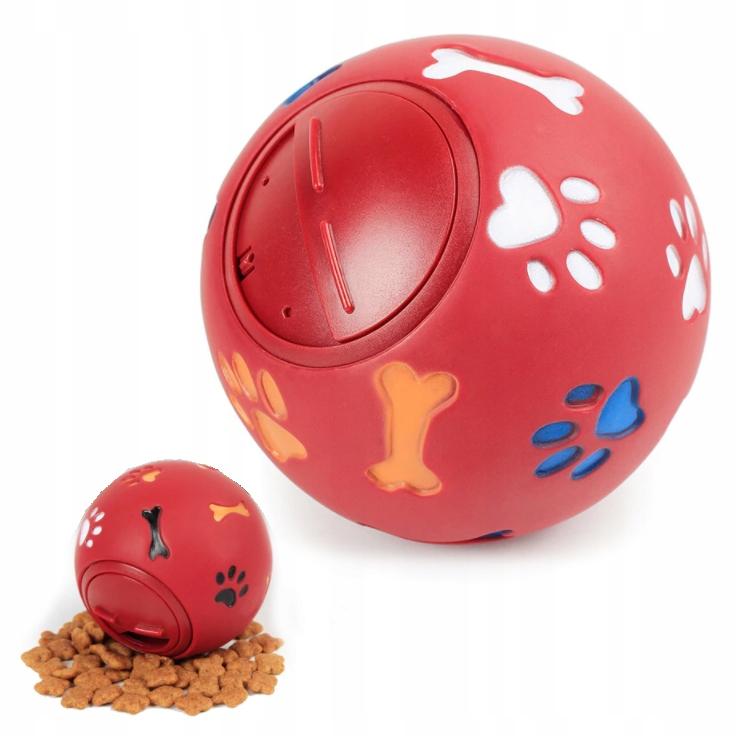 PIŁKA NA SMAKOŁYK Zabawka na Nudę dla Psa 7,5 cm