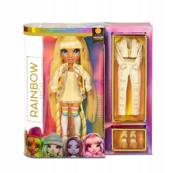 L.O.L Rainbow High Fashion DOLL - Sunny Madison