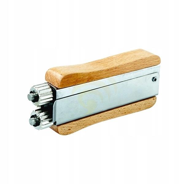 Napinacz drutu w ramce - drewniana rączka