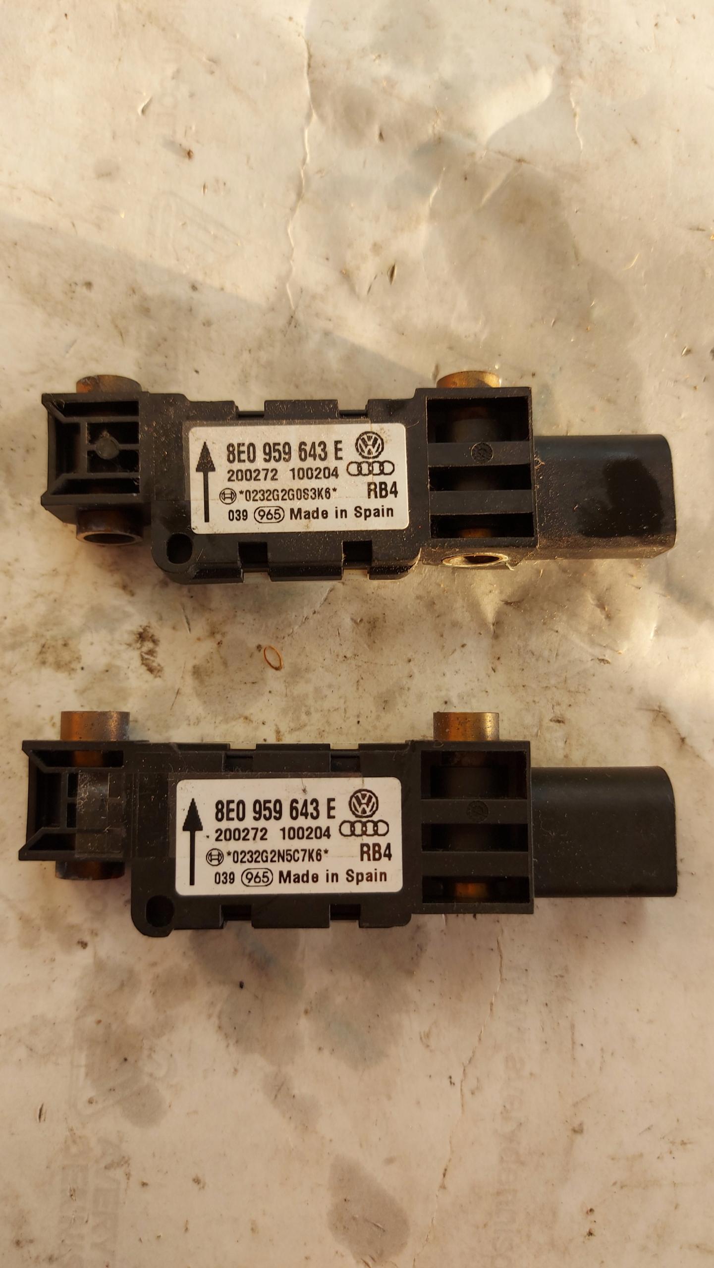 сенсор датчик ход airbag audi a4 b6