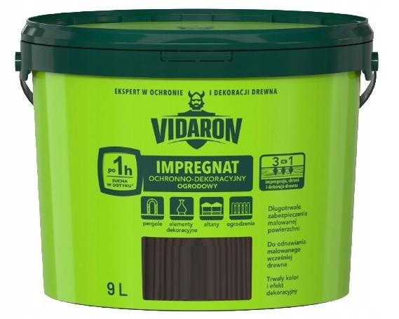 VIDARON - ремонт пропитки для древесины 9l