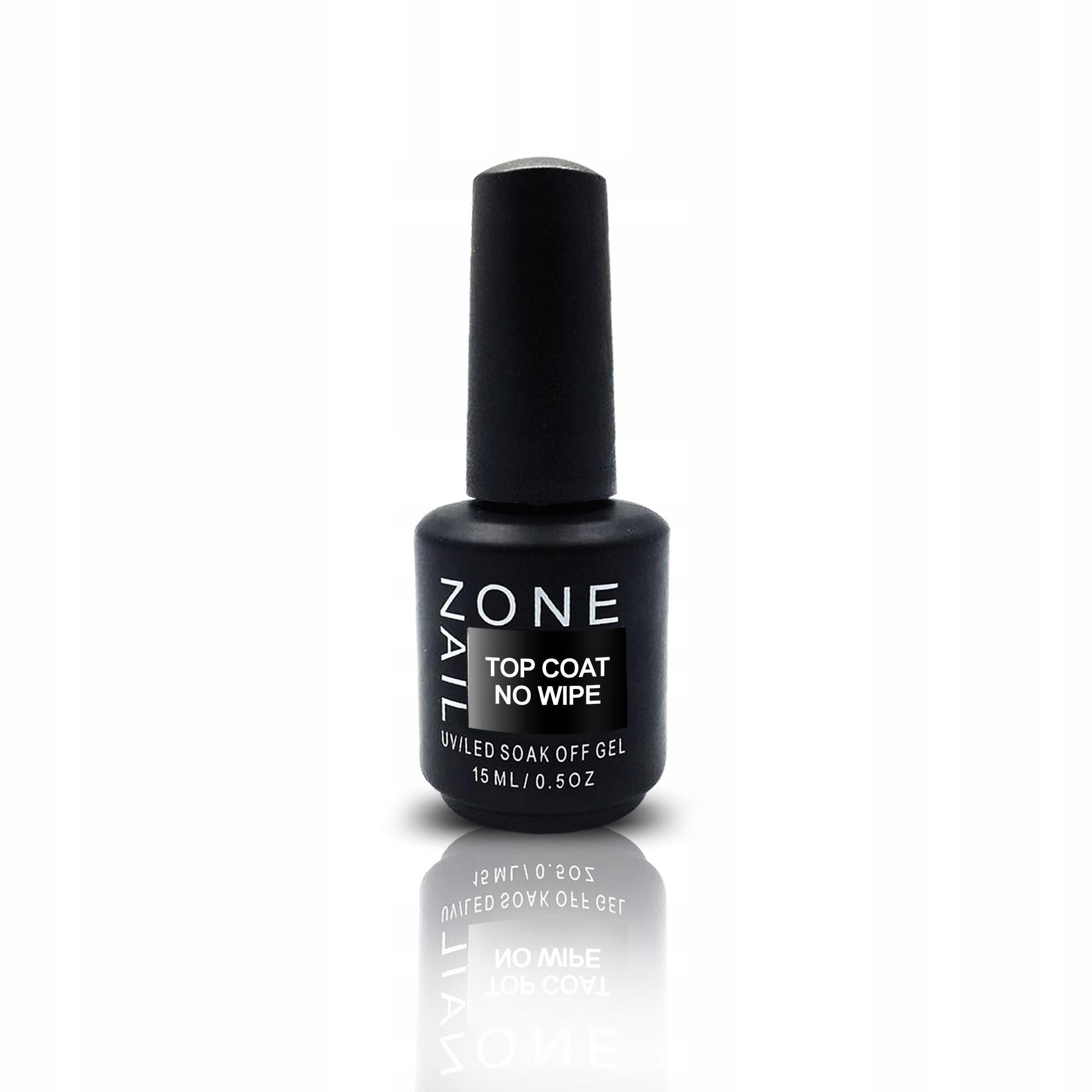 OneNail Top Coat No Wipe Hybryda manicure pedicure 9999530674 - Allegro.pl