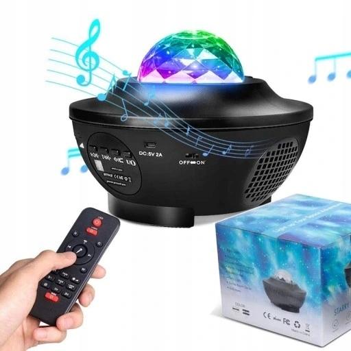 Звездный светодиодный звездный проектор - ночник в подарок