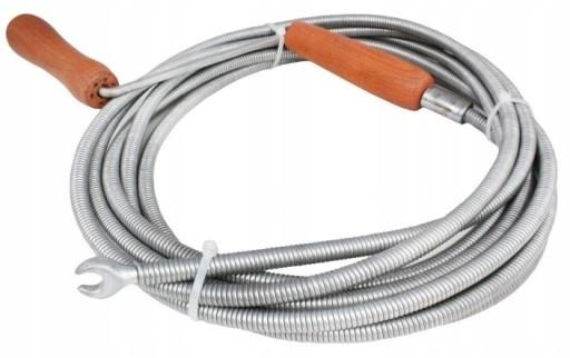 Канализационная спираль 15м